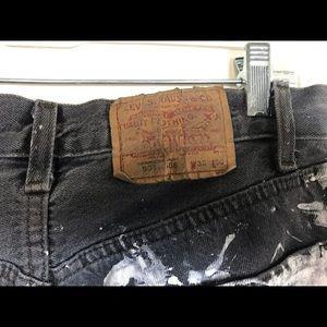 Levi's Jeans - Levi 501 jeans vintage new paint